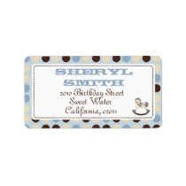 Rocking Horse Address Label 2