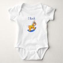 Rocking Horse Baby Bodysuit