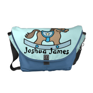 Rocking Horse Baby Boy Baby Diaper Bag