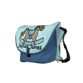 Rocking Horse Baby Boy Baby Diaper Bag Messenger Bag