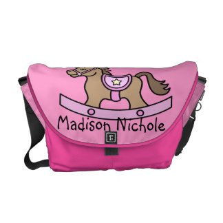 Rocking Horse Baby Girl Baby Diaper Bag