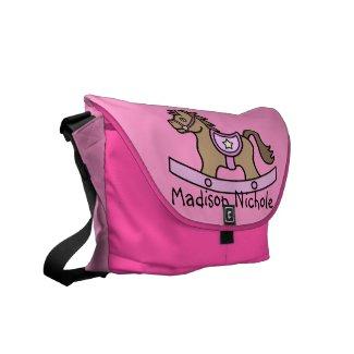 Rocking Horse Baby Girl Baby Diaper Bag Messenger Bags