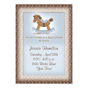 Horse baby shower invitations zazzle rocking horse baby shower invitation filmwisefo