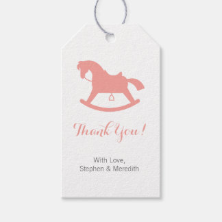Horse gift tags zazzle rocking horse baby shower personalized gift tags negle Image collections