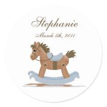 Rocking Horse Baby Sticker