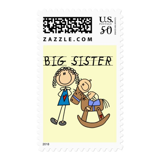 Rocking Horse Big Sister T-shirts and Gifts Postage