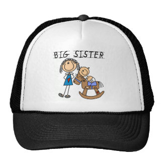 Rocking Horse Big Sister T-shirts and Gifts Trucker Hat