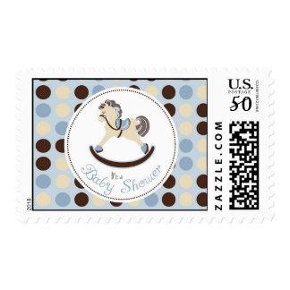 Rocking Horse Boy Stamp 2