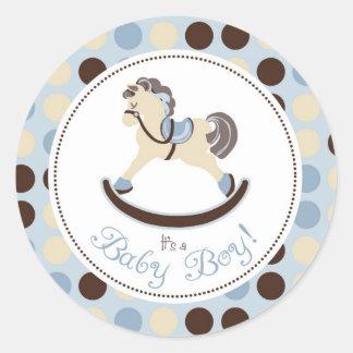 Rocking Horse Boy Sticker