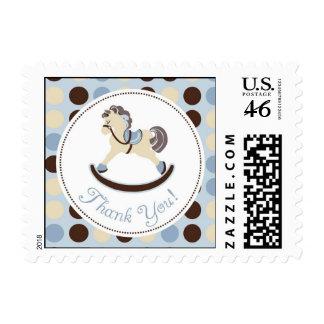 Rocking Horse Boy TY Stamp B
