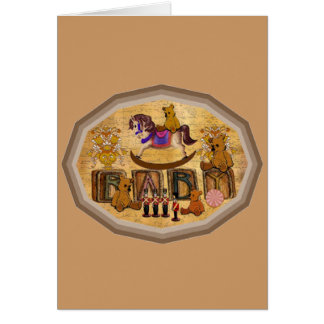 Rocking Horse Card