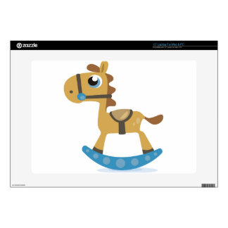 Rocking Horse Decal For Laptop