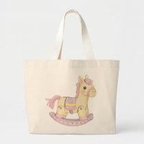 Rocking Horse Diaper Bag (Pink)