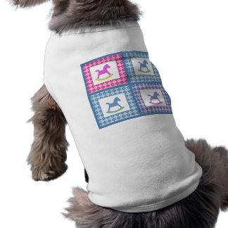 Rocking Horse doggy Tshirt Dog Tee Shirt