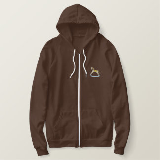 Rocking Horse Embroidered Hoodie