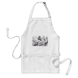 Rocking Horse Fly Aprons