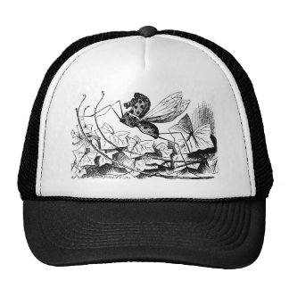 Rocking-horse-fly Mesh Hat