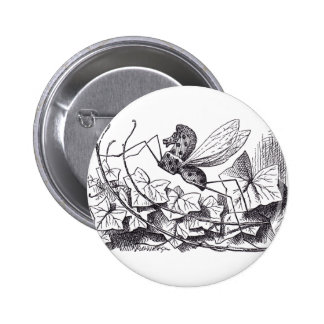 Rocking Horse Fly Pinback Button