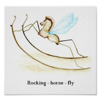 Rocking Horse Fly Poster