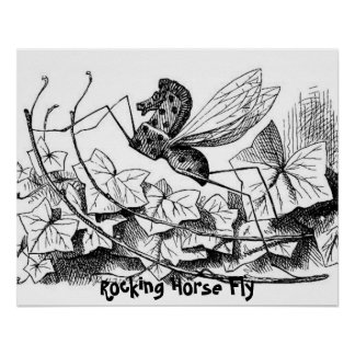 Rocking Horse Fly Print