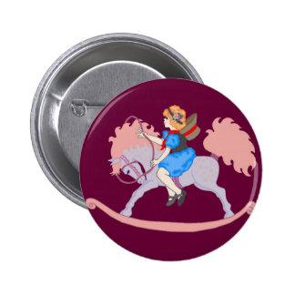 Rocking Horse Girl Pins