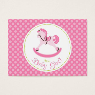 Rocking Horse Girl Gift Tag