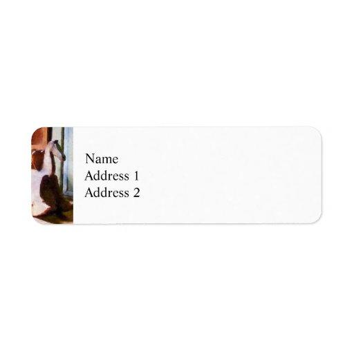 Rocking Horse in Attic Return Address Labels