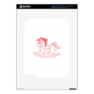 Rocking Horse iPad 3 Skin