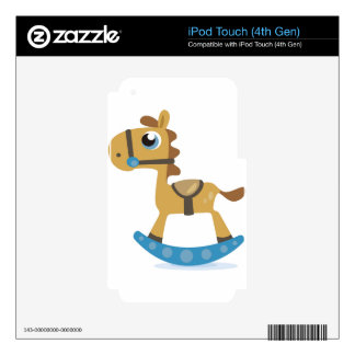 Rocking Horse iPod Touch 4G Decal
