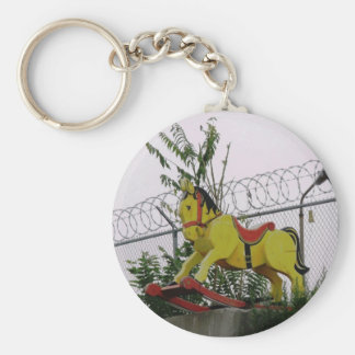 Rocking Horse Keychain