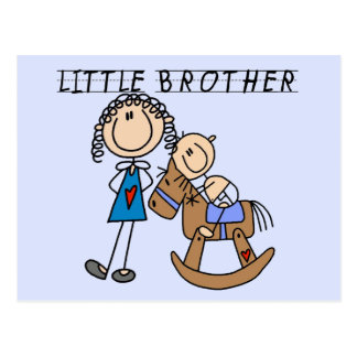Rocking  Horse Little Brother Tshirts Postcard