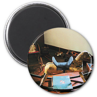Rocking Horse 2 Inch Round Magnet