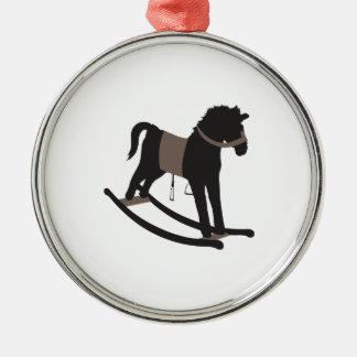 Rocking Horse Metal Ornament