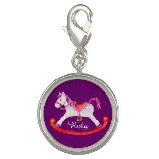 Rocking horse name purple charm