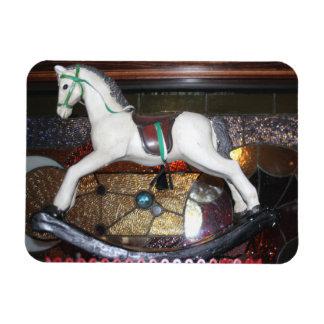 Rocking Horse Photo Magnet