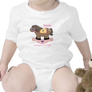 Rocking Horse Pink Infant Creeper