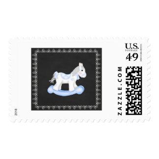 Rocking Horse Postage Stamp