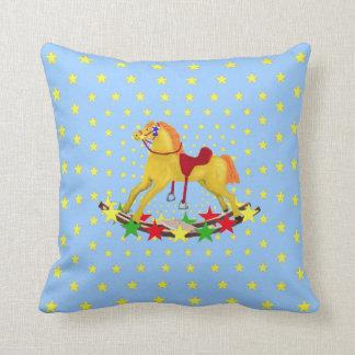 Rocking Horse Star Ride Pillow