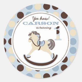 Rocking Horse Sticker 1