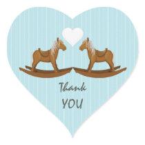 Rocking Horse Thank You Envelope Seal