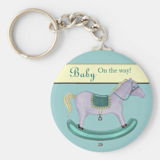Rocking Horse - Traditional Toys (pastel) Keychain
