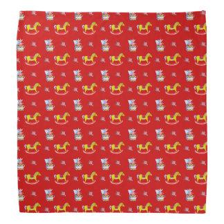 Rocking Horse - Traditional Toys (Primary Colours) Bandana