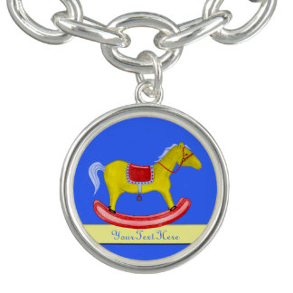 Rocking Horse - Traditional Toys (Primary Colours) Charm Bracelets