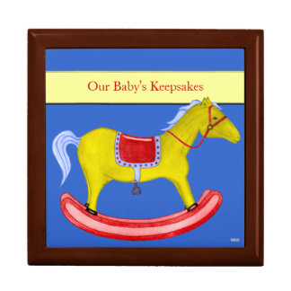 Rocking Horse - Traditional Toys (Primary Colours) Jewelry Box