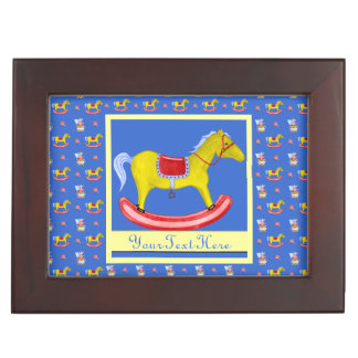 Rocking Horse - Traditional Toys Primary Colours Keepsake Box