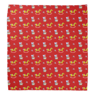 Rocking Horse - Traditional Toys Primary Colours Kerchief