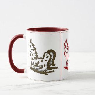 Rocking Horse Trio in color Mug