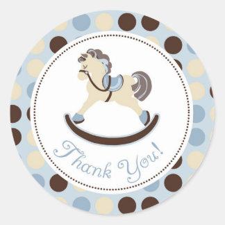 Rocking Horse TY Sticker