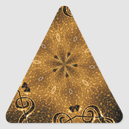 Rocking It,Golden Moments#2_ Triangle Sticker