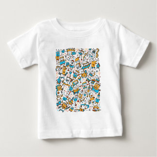 Rocking Little Robots Baby Tee